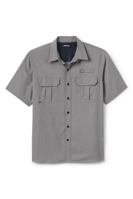 Men's Tall Short Sleeve Traditional Fit Outrigger Shirt