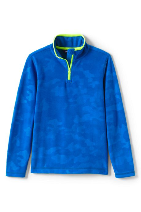Kids Quarter Zip Fleece Pullover