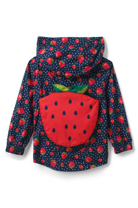 Toddler Kids Backpack Rain Jacket