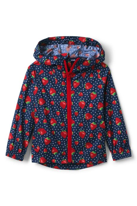 Little Kids Backpack Rain Jacket
