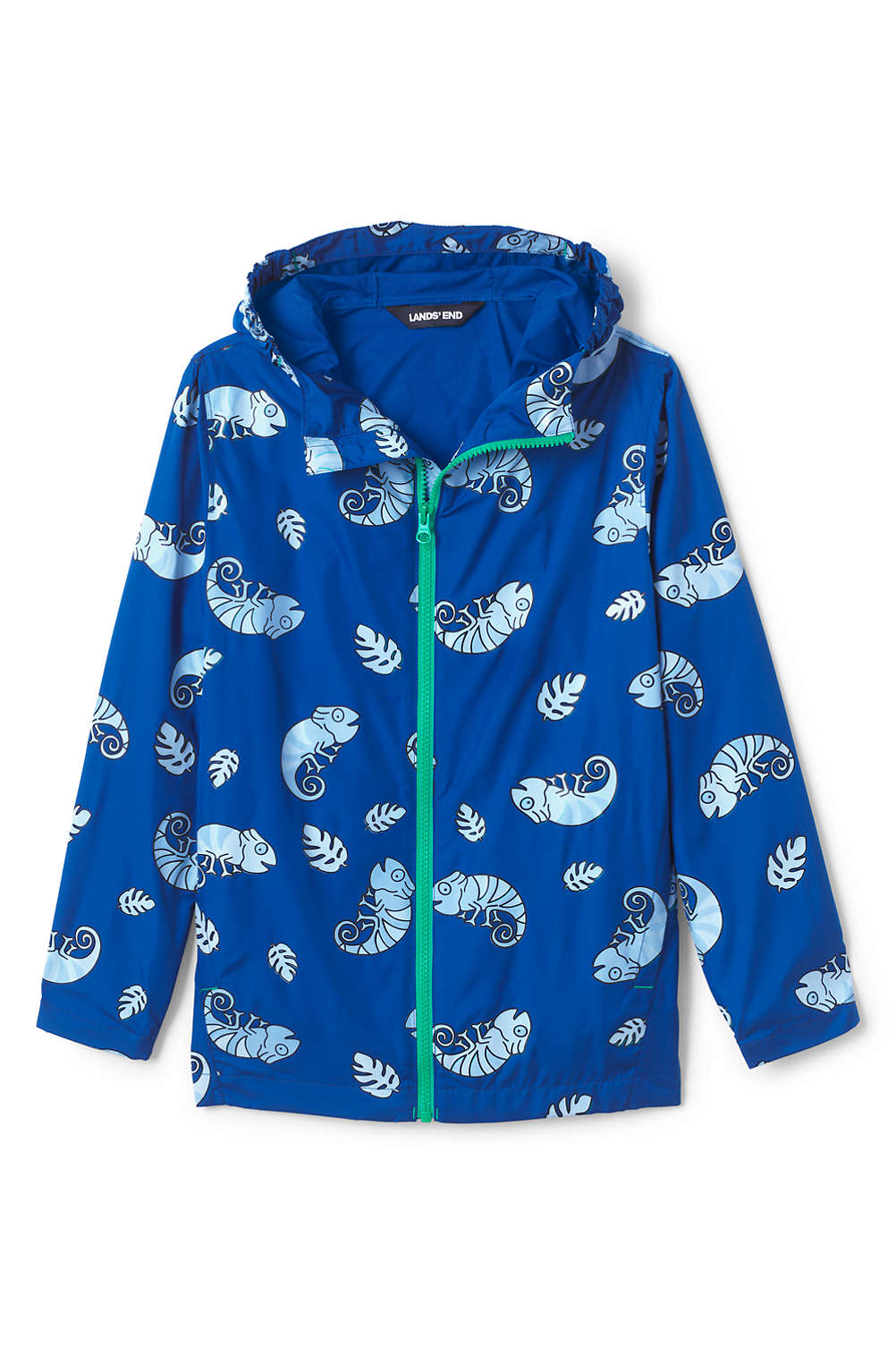 0f777289aae0 Toddler Kids Color Change Rain Jacket from Lands  End