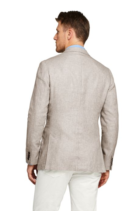 Men's Tailored Fit Linen Cotton Sport Coat