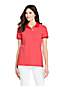 Women's Print Piqué Polo Shirt