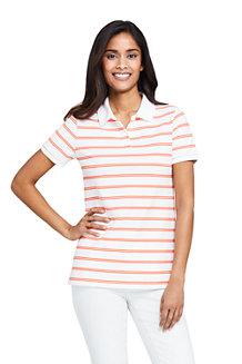 Women's Print Piqué Polo Shirt