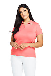 aebcba2982 Women's Polo Shirts | 100% Cotton Petite, Plus, 3/4, Short & Long ...
