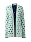 Women's Petite Bubble Dot Supima Open Cardigan