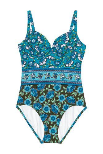 Control Badeanzug mit Bügel-BH Gemustert PERFECT SUIT für Damen