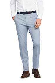 Men's Tailored Fit Comfort First Cotton Oxford Trousers