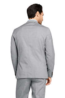 Men's Traditional Fit Comfort First Cotton Oxford Sport Coat, Back