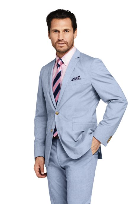 Men's Traditional Fit Comfort First Cotton Oxford Sport Coat