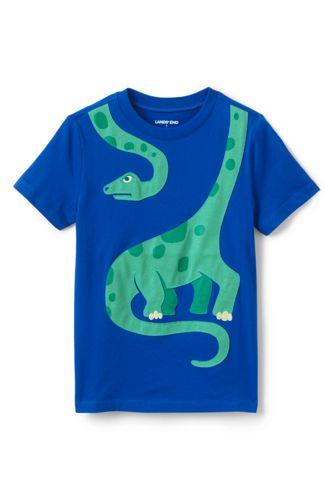 T-Shirt Graphique à Motifs 3D, Petit Garçon