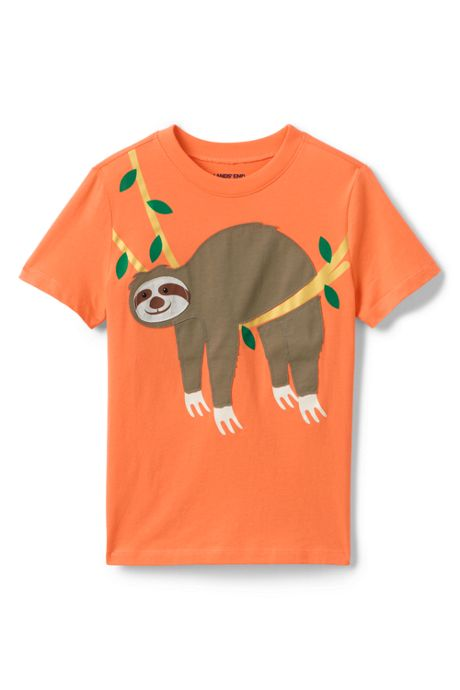 Little Boys Applique Graphic Tee