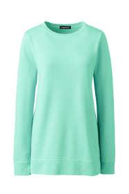 Women's Plus Size Long Sleeve Sweatshirt Tunic