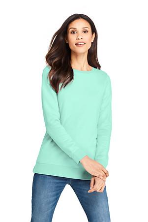 3346950ced6 Women's Long Sleeve Sweatshirt Tunic | Lands' End