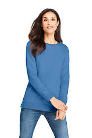 Women's Long Sleeve Sweatshirt Tunic