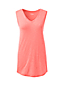 Women's Petite Slub Jersey V-neck Sleeveless Top