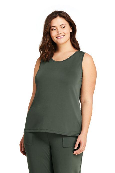 Women's Plus Size Matte Jersey Tank