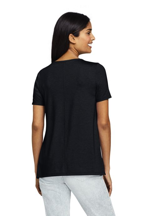 Women's Petite Short Sleeve UPF Wicking T-Shirt