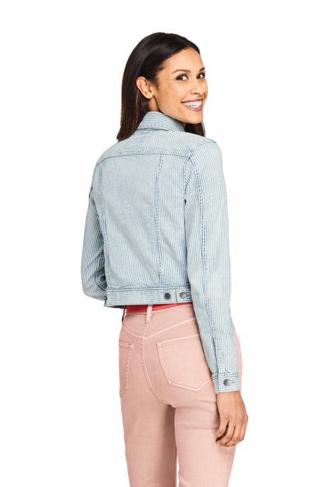 Women's Denim Stripe Jacket