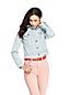Women's Striped Denim Jacket