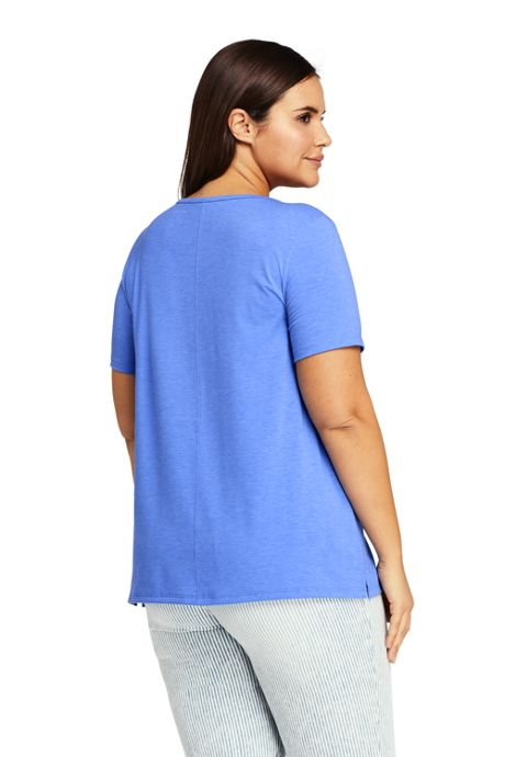 cdeef7ca1 Women's Plus Size Short Sleeve UPF Wicking T-shirt, Tops & Tees ...