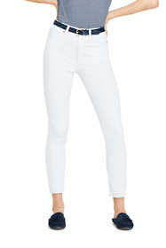 Women's Petite High Rise Slim Leg Ankle Jeans