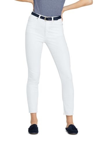 Women s White High Waisted Ankle Jeans  6700a492d