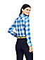Women's Petite Doublecloth Checked Shirt