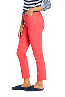 Women's Petite High Rise Slim Straight Leg Ankle Jeans - Color, Unknown