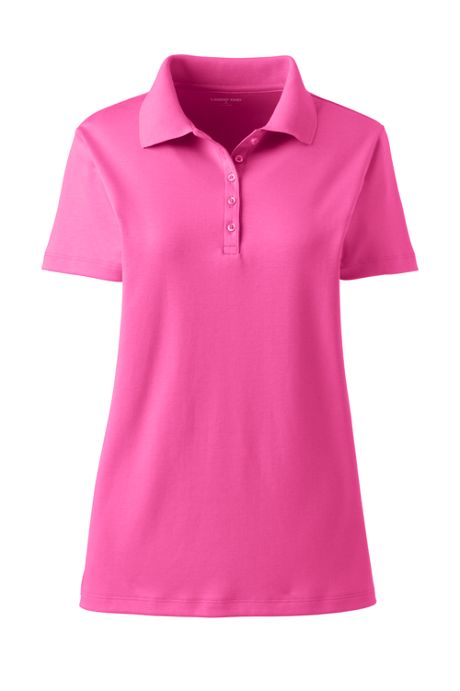 Women's Tall Supima Cotton Short Sleeve Polo Shirt