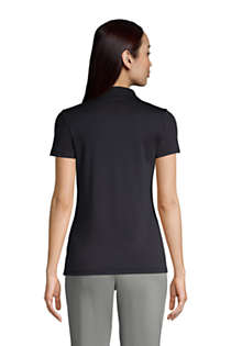 Women's Supima Cotton Short Sleeve Polo Shirt , Back