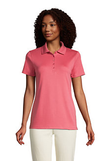 Women's Short Sleeve Supima Polo Shirt