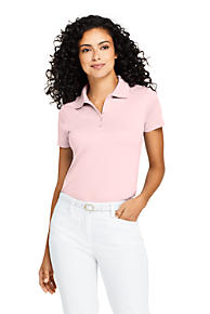Pink Polo Shirts for Women 100% Cotton Petite b1d6a47b58