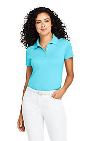 0bdbf676 Women's Supima Cotton Polo Shirt Short Sleeve