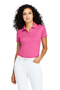Women's Supima Cotton Short Sleeve Polo Shirt , Front