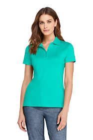 Women's Petite Supima Cotton Short Sleeve Polo Shirt