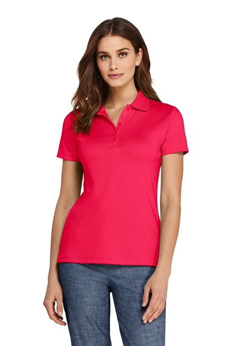 Women's Supima Cotton Short Sleeve Polo Shirt