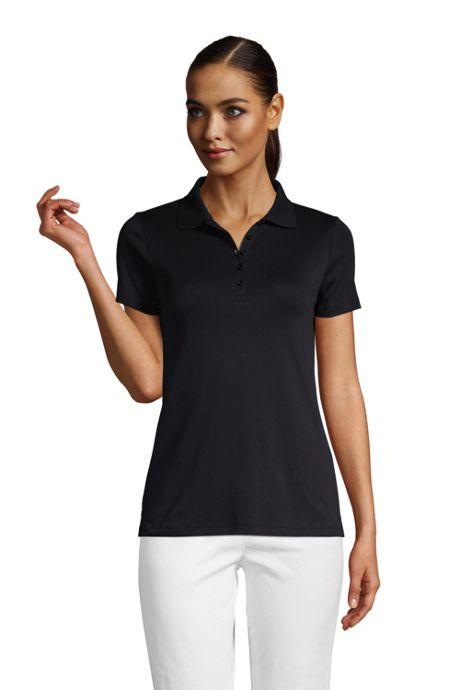 School Uniform Women's Supima Cotton Short Sleeve Polo Shirt
