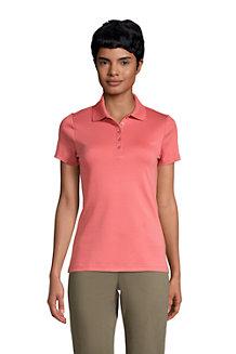 Supima-Poloshirt für Damen
