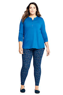 Women's Plus Size Starfish Mid Rise Knit Leggings, Unknown