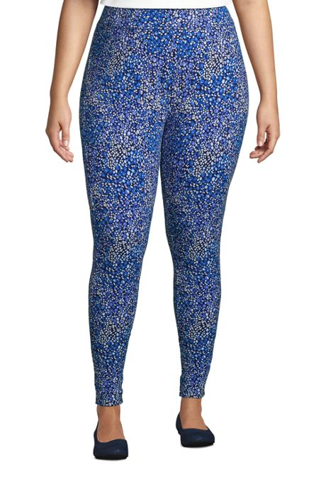 Women's Plus Size Starfish Mid Rise Knit Leggings