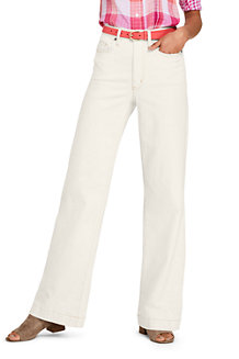 Jean Large Stretch Coloré, Femme