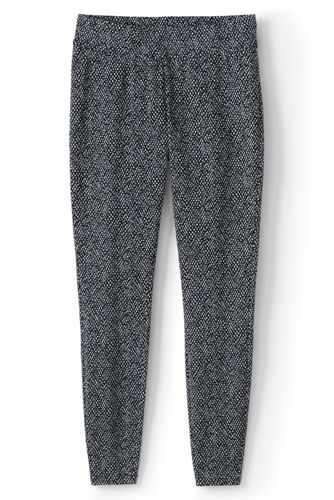 Women's Petite Starfish Patterned Leggings