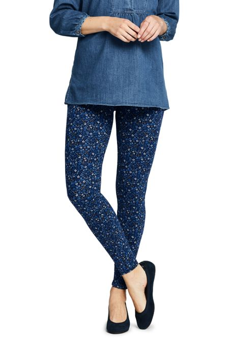 Women's Starfish Mid Rise Knit Leggings