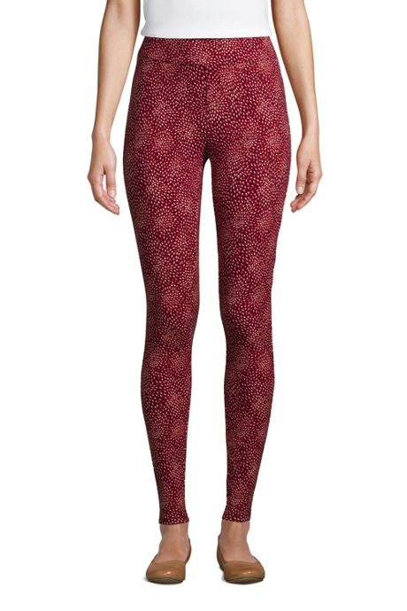 Women's Petite Starfish Mid Rise Knit Leggings