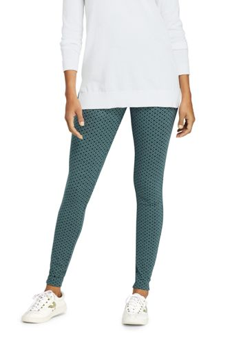 Women's Plus Starfish Patterned Leggings