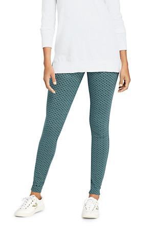 061b3479 Women's Starfish Patterned Leggings | Lands' End