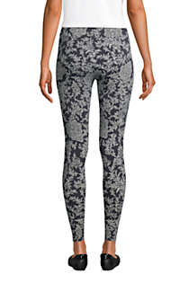 Women's Starfish Mid Rise Knit Leggings, Back
