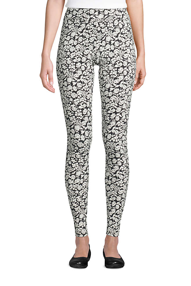 Women's Starfish Mid Rise Knit Leggings, Front