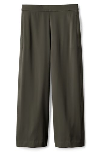 Women's Plus Crepe Crop Trousers